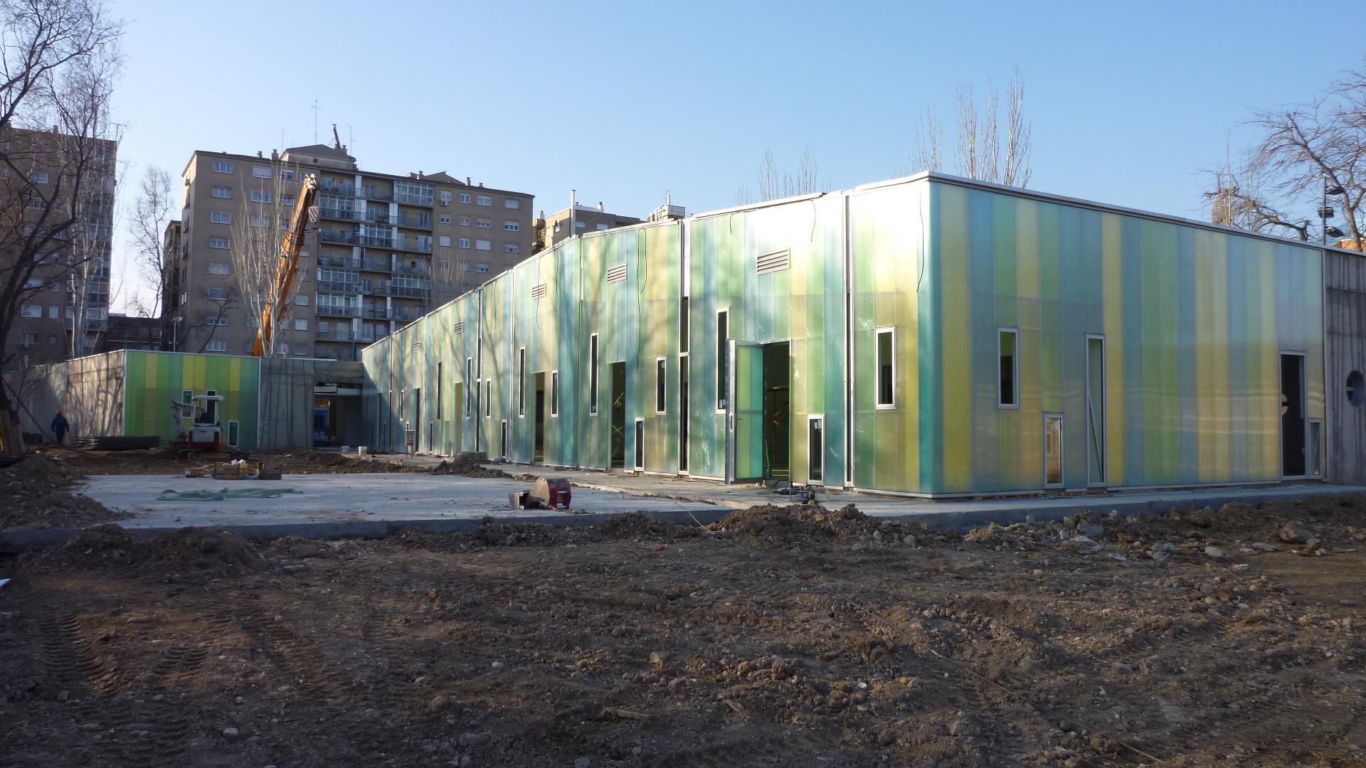 Escuela infantil casco historico zaragoza gr valos di - Arquitectos en zaragoza ...