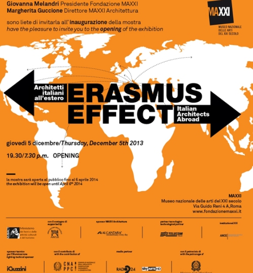 MAXXI #erasmus effect exhibition gravalosdimonte architects