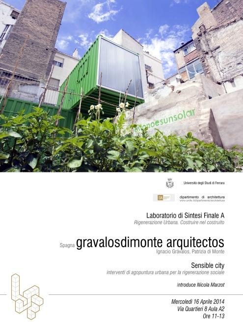 conferenza_gravalosdimonte_Facolta Architettura UniFerrara