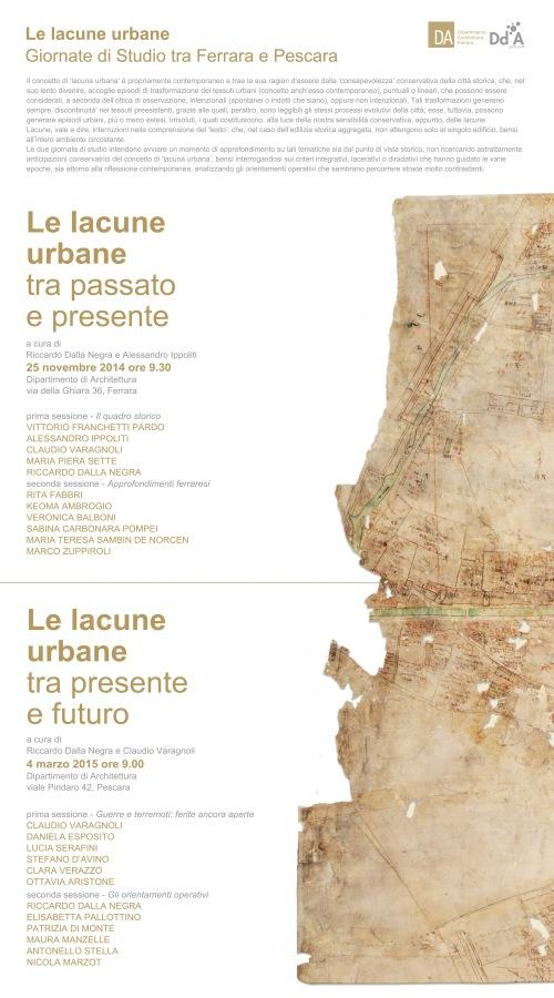 estonoesunsolar le lacune urbane Pescara  4 marzo 2015