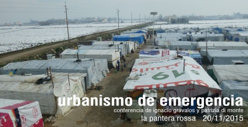 Emergency Temporal Urbanism gravalosdimonte  workshop UAB